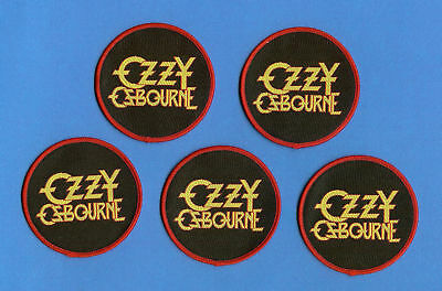 5 Lot Ozzy Ozbourne Heavy Metal Rock Music Hat Jacket Backpack Patches Crests