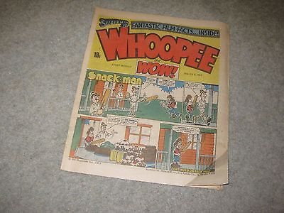 WHOOPEE and WoW comic July 1983