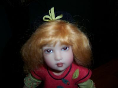 """Helen Kish Doll Bethany 12"""" Falling Leaves Mint Condition"""