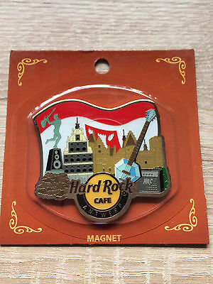 Hard Rock Cafe Antwerp Alternative Magnet !! Awesome !!