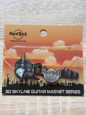 Hard Rock Cafe Antwerp 3D Skyline Magnet !! Awesome !!