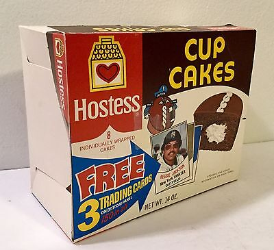 Hostess Vintage Empty Box 1970s Captain Cupcake Food Product Cereal Used Old