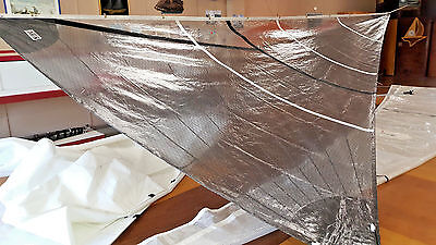 NEW J24 140% Luff=27.5 by 13' Foot; 25' Leech Mylar and Polyester Substrait