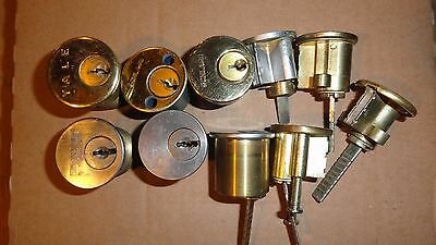 Lock Cylinders for Pins and Springs - No Keys - (Lot 3)
