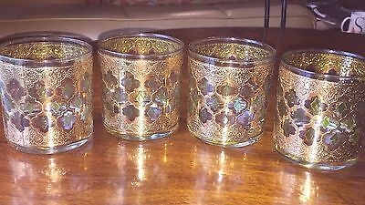 10 Available Culver VALENCIA Old Fashioned Low Ball Tumbler, EUC