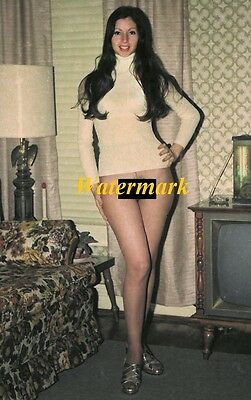 Unknown 1950-60's Classic, Retro,Timeless, Pinup, Model-Photo            K-0165