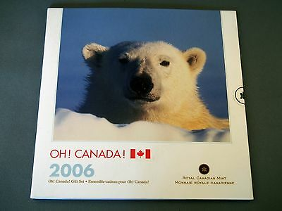 2006 OH! Canada! Uncirculated Coin Set Portfolio sealed