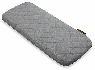 Bugaboo Wool Mattress Cover in Grey Melange