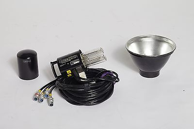 Speedotron Blackline 105 Quad Tube 9600 Ws Light Head, 4 Cables, w/ strobe tubes