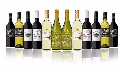 Australian Red & White Mixed Wines Featuring Rosemount & Wolf Blass (12x750ml))