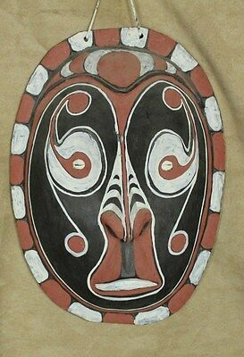 Big New Guinea Style Tribal Wood Carving mask Hanging Decorative Souvenir