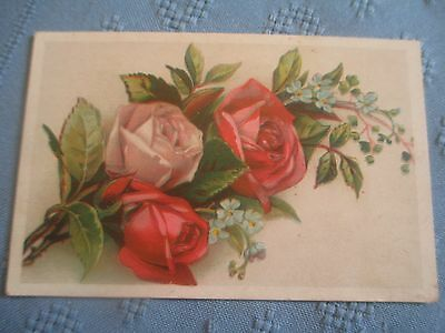 """Victorian Trade Card - Indiana Coffee Co. """"Banner Coffee"""" Indianapolis"""