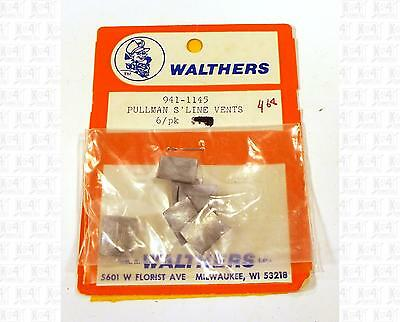 Walthers O Parts: Pullman Streamlined Passenger Car Vents 941-1145