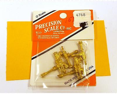 Precision Scale O Brass Parts: Nathan 4000 Feedwater Injectors 4768
