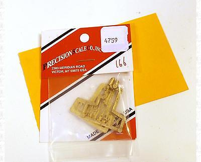 Precision Scale O Brass Parts: DV-7 Lubricator Working Linkage Sets 4759