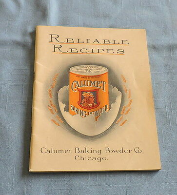1909 Reliable Recipes from Calumet Baking Powder - C2998