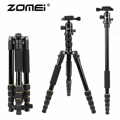 ZOMEI Portable Professional Tripod &Ball Head Compact Travel for DSLR Camera