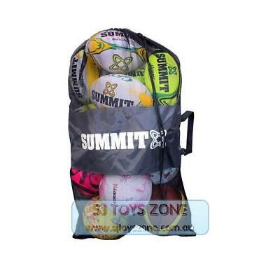 Summit Sports Mesh 12 Full Size Ball Bag with Shoulder Strap