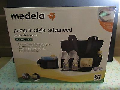 New Medela Pump in Style Advanced Double Breastpump OPEN BOX, NO TUBING + EXTRAS