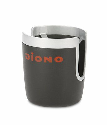 Diono Stroller Cup Holder, Black/Silver