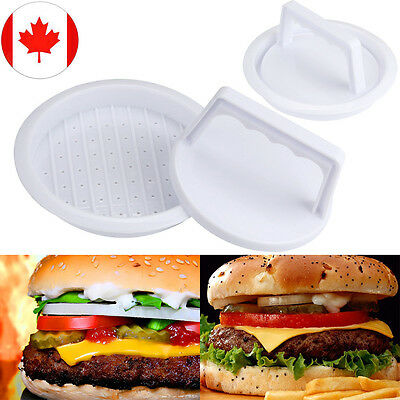 Patty Press Form Hamburger Mold Maker Meat Pie Mold Round Meat Mince BBQ HOT CA