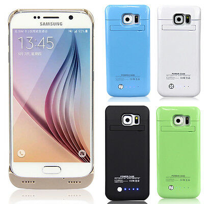 For Samsung Galaxy S6 S6 Edge Battery Case External Backup Power Battery Charger
