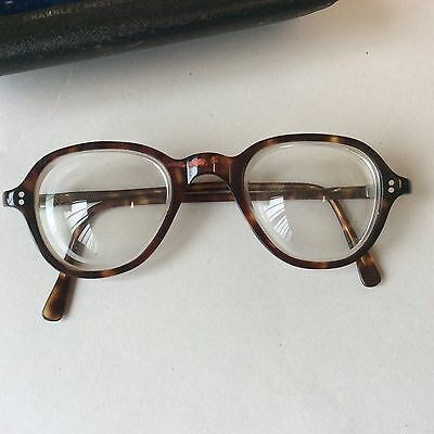 vintage 1950's tortoiseshell glasses with original box