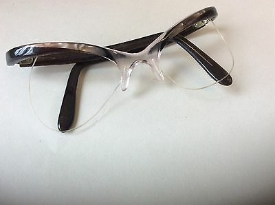 vintage 1950's cats eye glasses frame