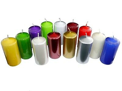 Pillar Candles, 14 colours to choose from, 20 hours burning time!!!