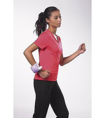 Wrist Water Bottles, Pair - Use as hands free wrist weights - With misting spray