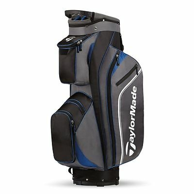 TaylorMade Pro Cart Bag 4.0 Black/Grey/Blue 17