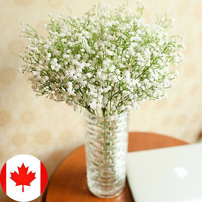 Artificial Gypsophila Floral Flower Silk Wedding Party Bouquet Home Decor WH CA