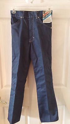 vintage 70s NWT Billy The Kid Iron Pants Tough Denim Jeans 12 Slim Ivey's Tag