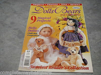 Australian Dolls, Bears and Collectables Vol. 8 No. 4 doll and bear collectors