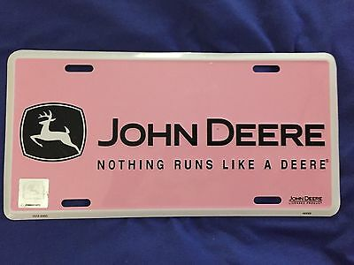 Pink John Deer - Nothing Runs Like A Deere