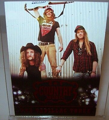 The Cadillac Three #79  2014 Panini Country Music Numbered Card 91/99 Made