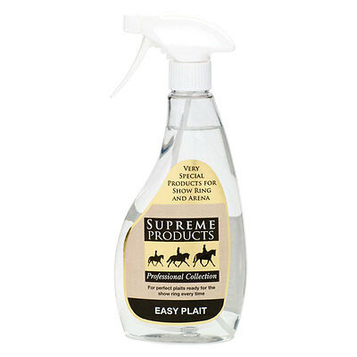 Supreme Products EASY PLAIT Horse Pony Grooming Perfect Neat Plaits 500ml