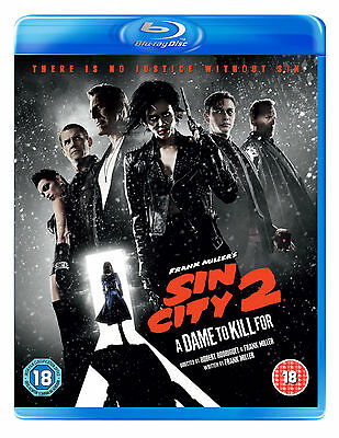 SIN CITY 2: A DAME TO KILL FOR (Blu-ray) (New)
