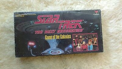 Star Trek The Next Generation Game of the Galaxies Board Game Cardinal 1993 NEW