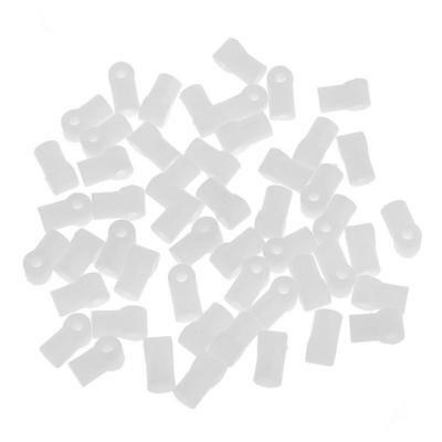 50 Pieces Plastic Axle Sleeve Shaft DIY Toy Accessories Model