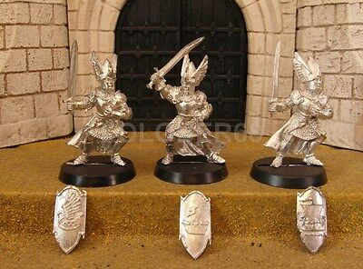 3 KNIGHTS OF DOL AMROTH - Lord Of The Rings Metal Figure(s)