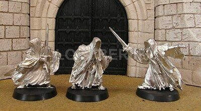 3 RINGWRAITHS - Lord Of The Rings Metal Figure(s)