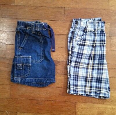 Lot Of 2 Boys Gymboree Shorts Size 18-24 Months Guc