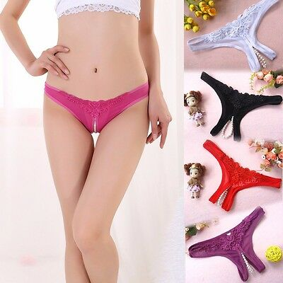 Sex toys Shorts lingerie Sexy Strong transparent g-strings pant bead for women