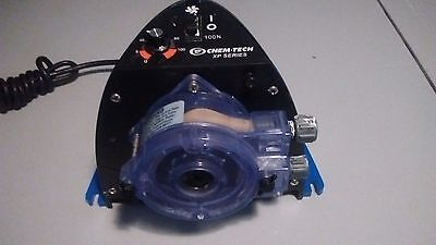CHEMTECH  PULSAFEEDER Chemical Metering Pump  Series XP    XP050LALX  50 GPD / 4