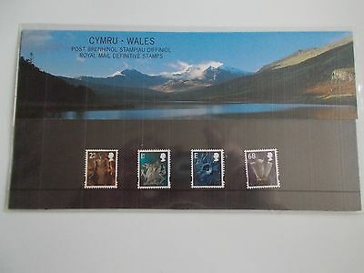 GB 2003 Regional Machin Definitives Wales 2nd to 68p Presentation Pack no 65