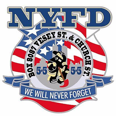 91101 NYFD Never Forget Vesey Church Street Patch