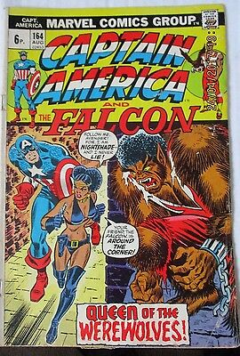 Captain America And The Falcon # 164 , Bronze Age Clearance Copy