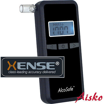 Breathalyzer ALCOSAFE S4B with Xense® Processor. EVT&DECT. User Adjustable Units