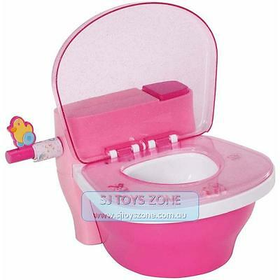 Baby Born Interactive Potty Experience with Toilet Flush Sound Kids Pretend Play